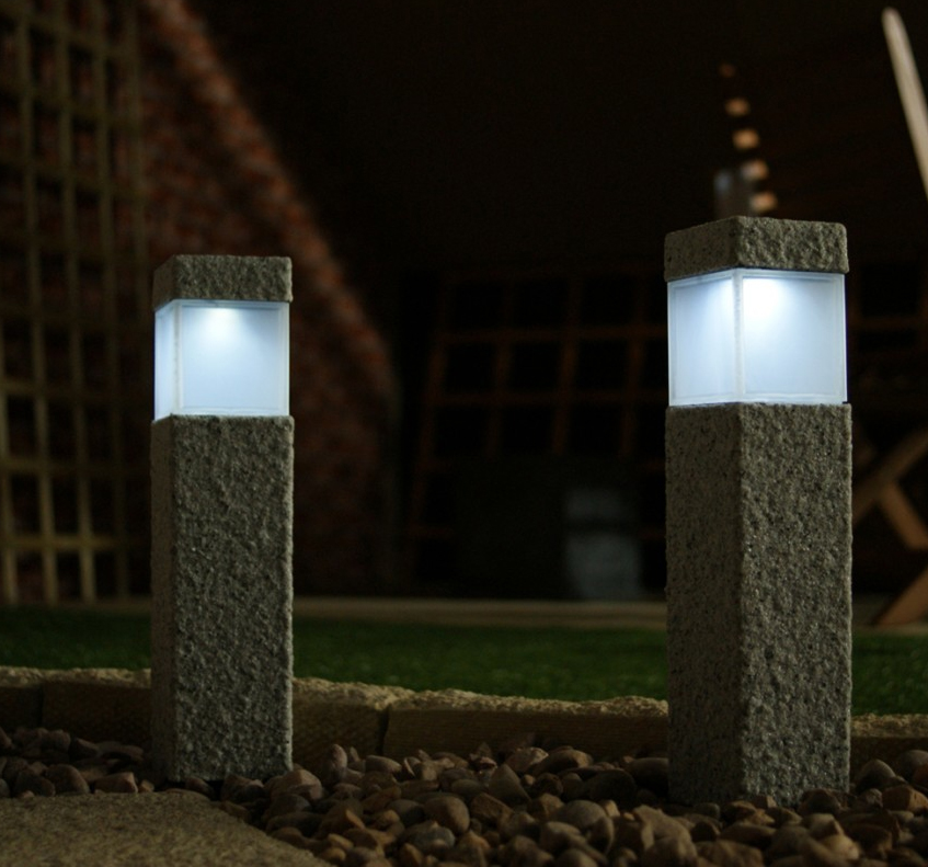 Flush Solar Wall Lights : Solar powered garden wall lights - perfect solutions one could look for Warisan Lighting