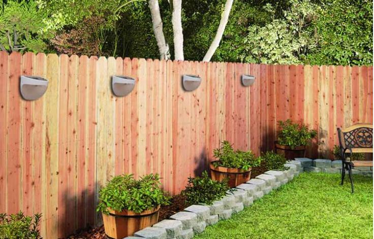 solar powered outdoor wall lights photo - 10