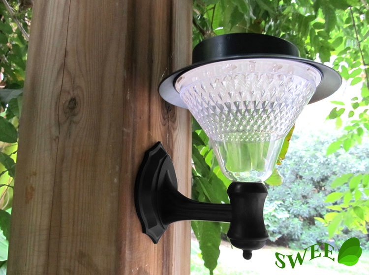 solar powered outdoor wall lights photo - 4