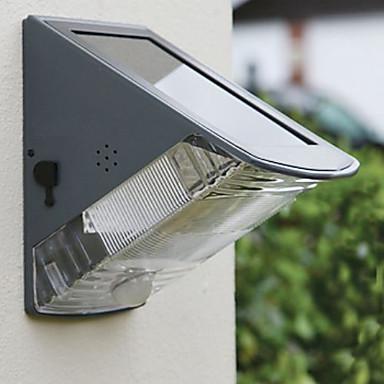 solar powered wall lights photo - 5