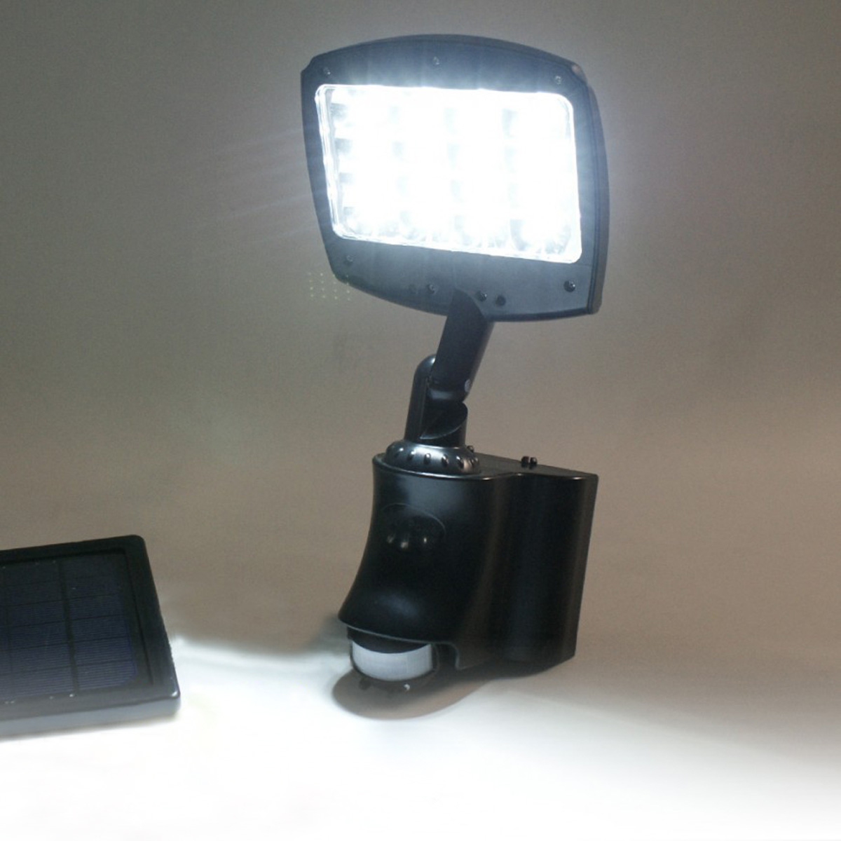 solar powered wall lights photo - 8