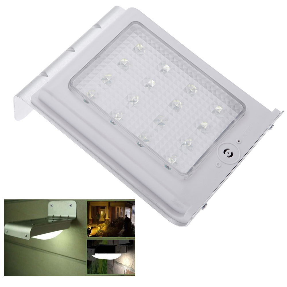 solar powered wall lights outdoor photo - 6