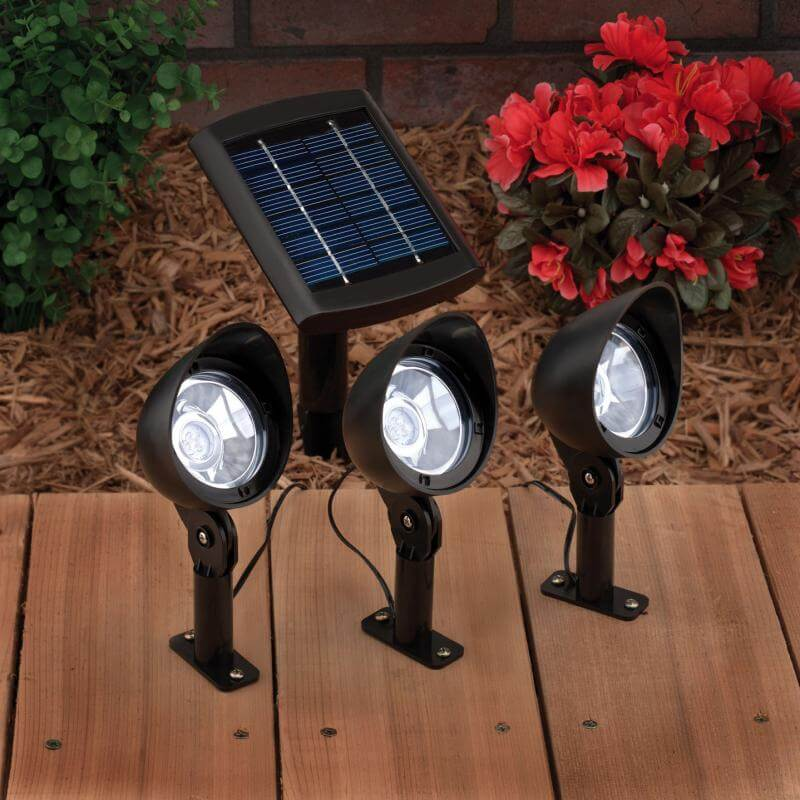 solar spot lights outdoor photo - 6