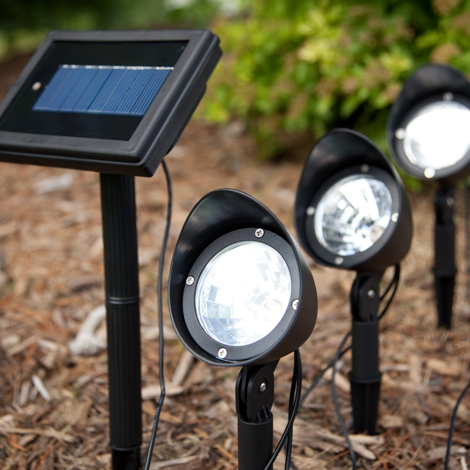 solar spot lights outdoor photo - 7