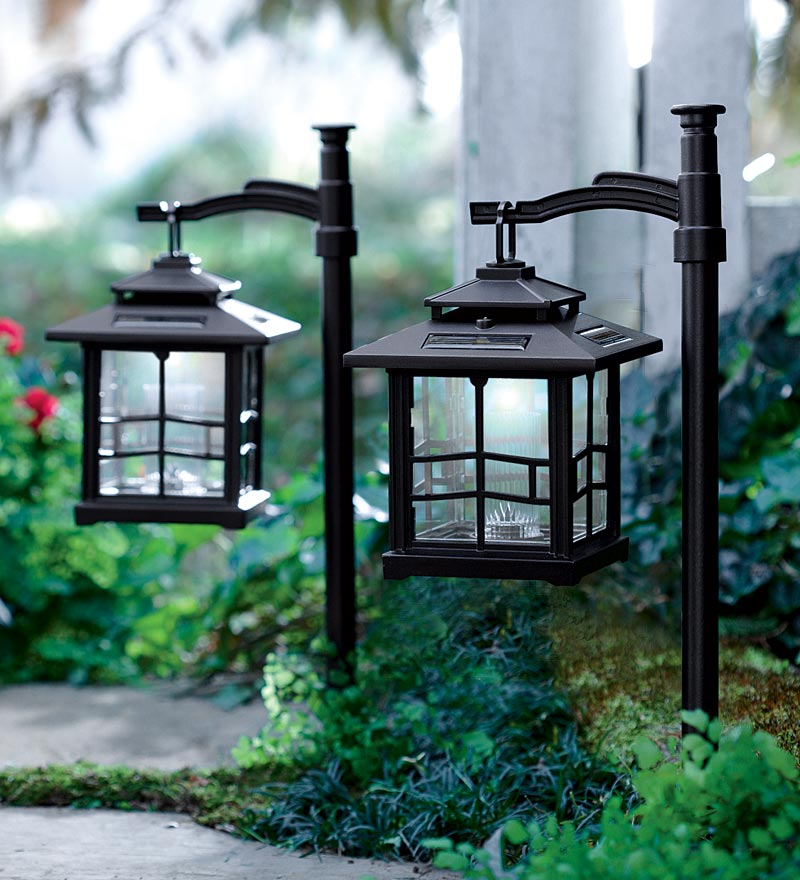solar stake lights outdoor photo - 5