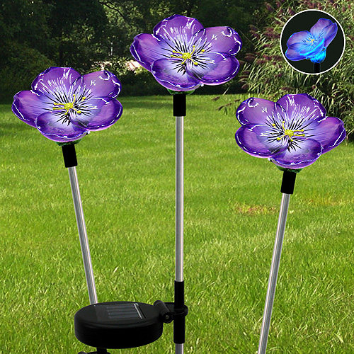 solar stake lights outdoor photo - 6