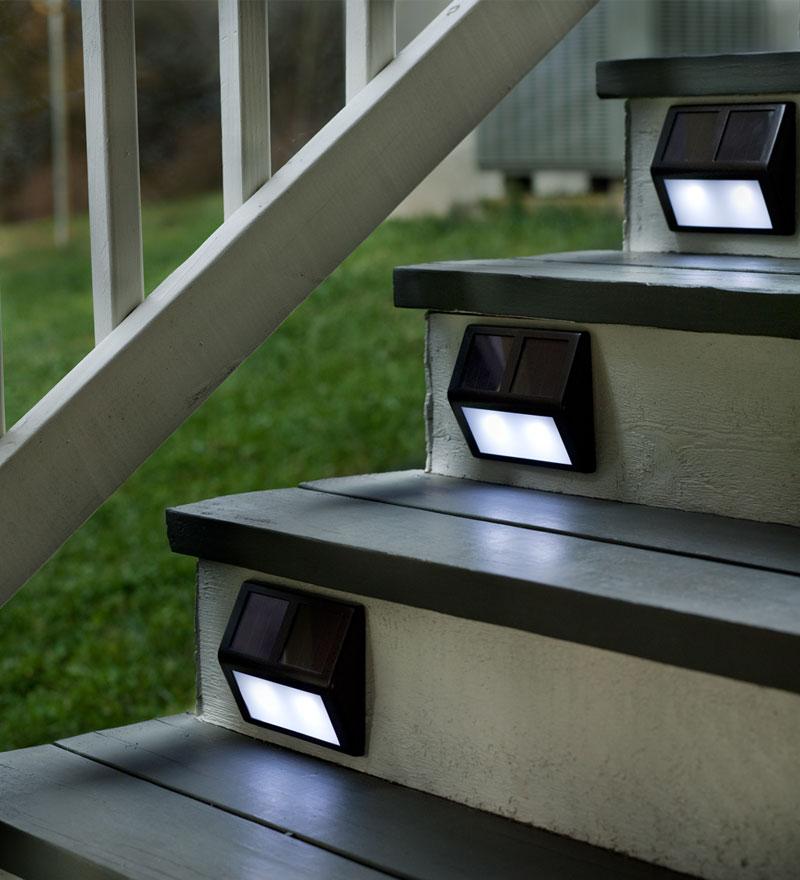 solar step lights outdoor photo - 1