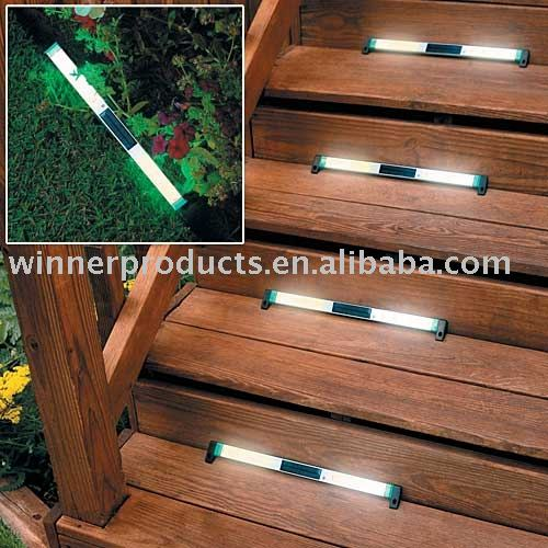 Solar Deck Lights Stairs Home Decor