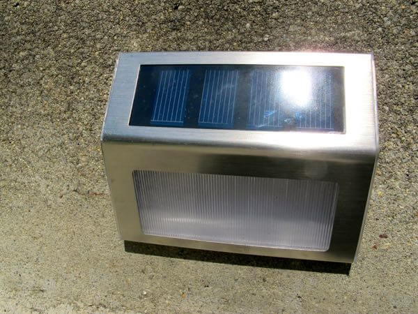 solar step lights outdoor photo - 7