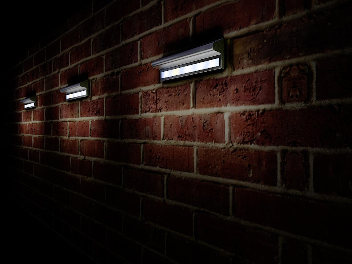 solar wall lights photo - 4