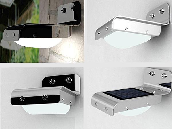 solar wall lights photo - 8