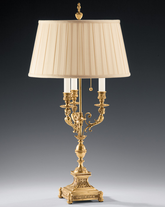 solid brass lamps photo - 2