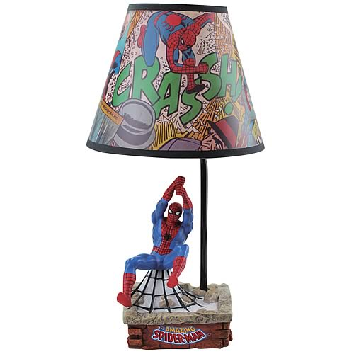 spider man lamp photo - 3