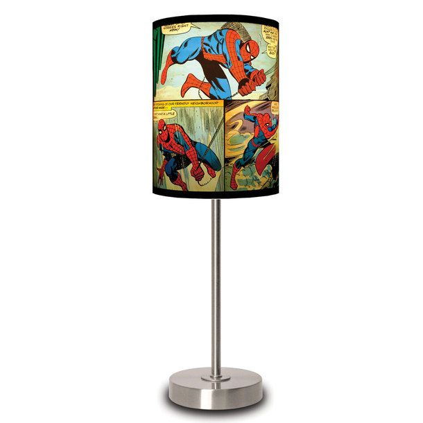 spider man lamp photo - 7