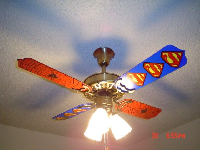 spiderman ceiling fan photo - 10