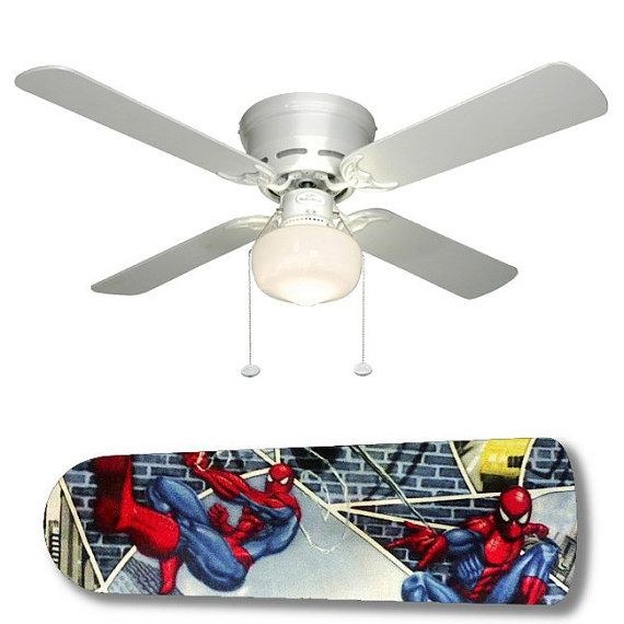 spiderman ceiling fan photo - 3