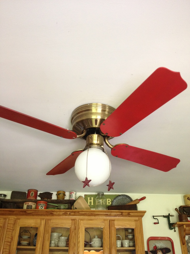 spray paint ceiling fan photo - 3