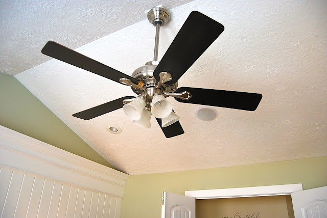 spray paint ceiling fan photo - 7