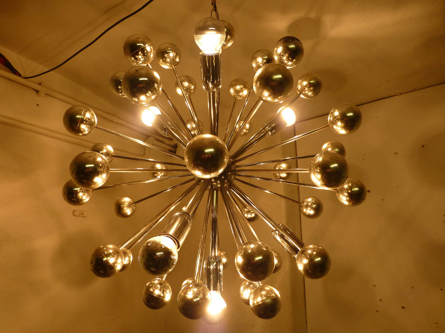 sputnik ceiling light photo - 3