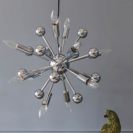 sputnik ceiling light photo - 4