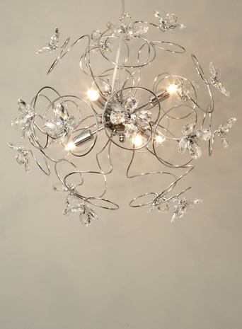 sputnik ceiling light photo - 6