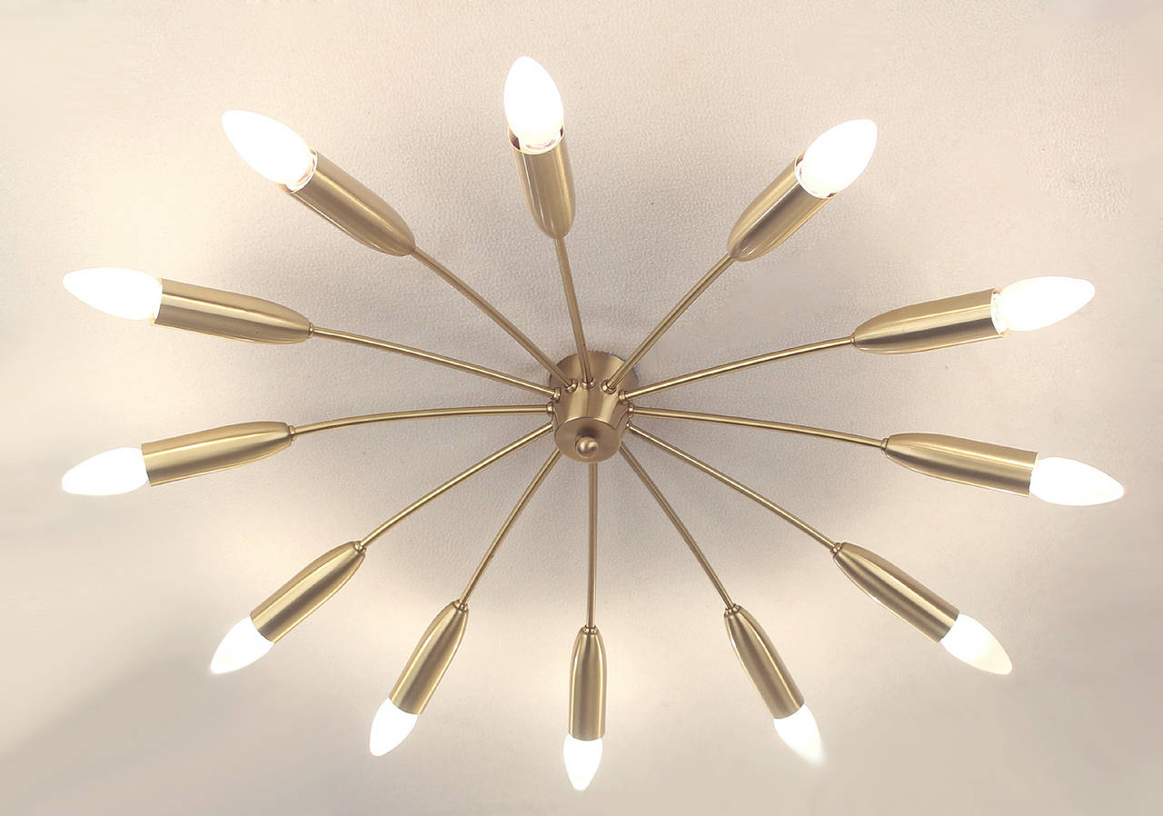 sputnik ceiling light photo - 8