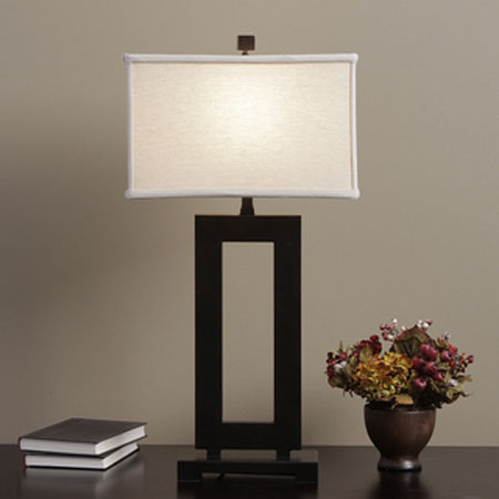 square table lamps photo - 1