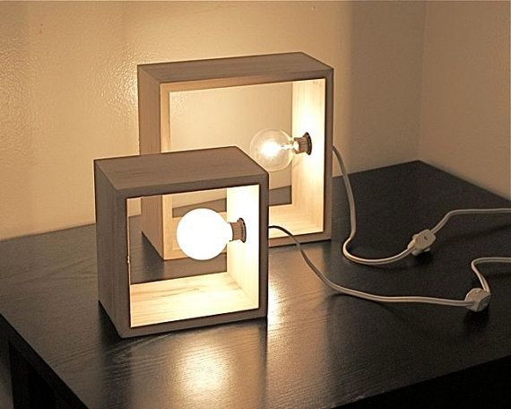 square table lamps photo - 2