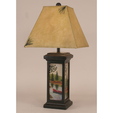square table lamps photo - 3