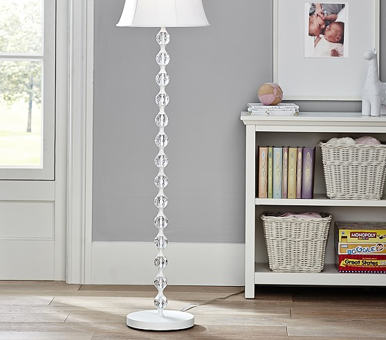 stacked ball floor lamp photo - 2