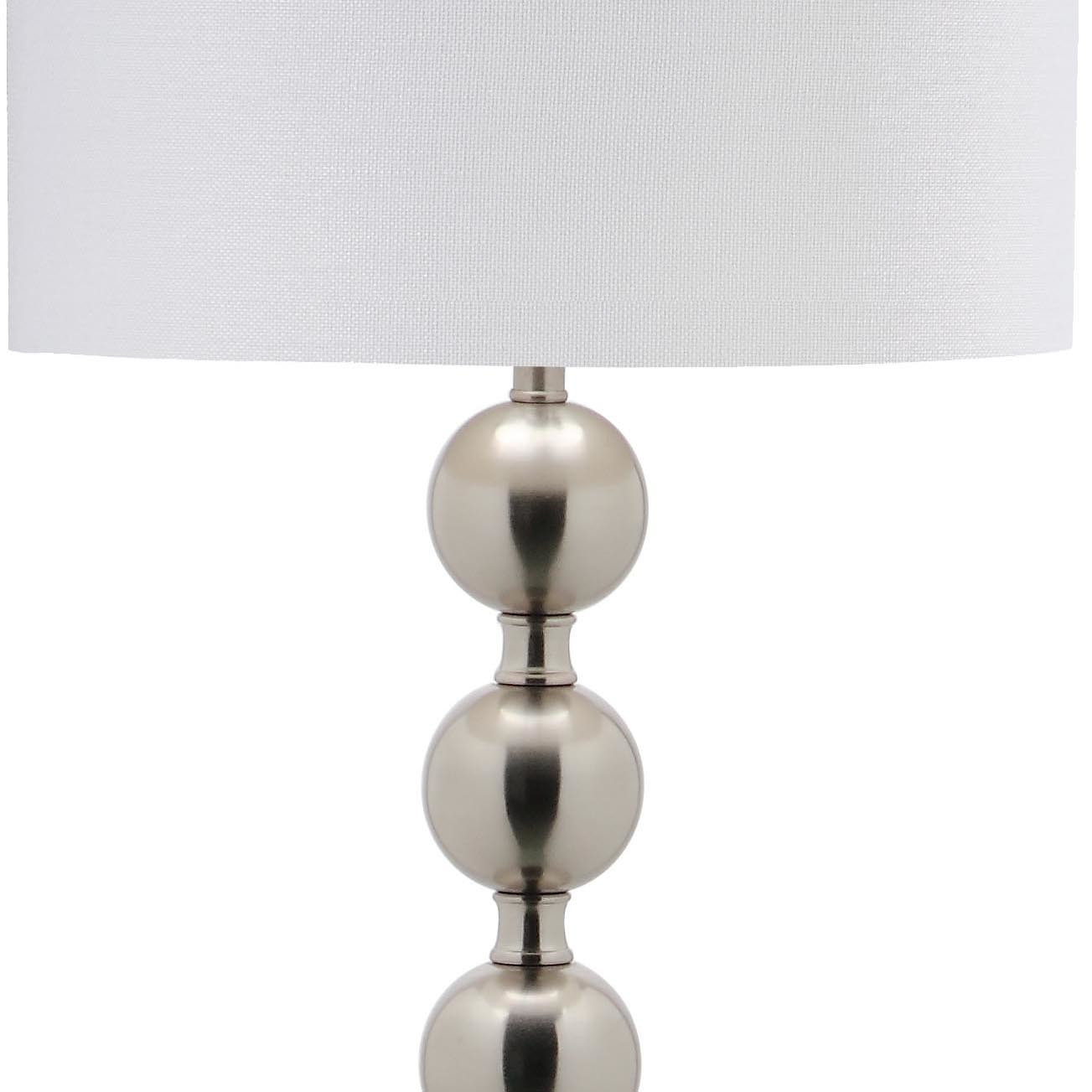 stacked ball floor lamp photo - 4