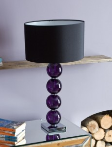 stacked ball lamp photo - 4