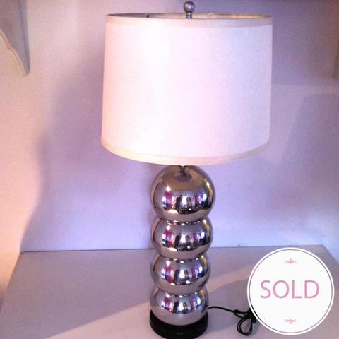stacked ball lamp photo - 8