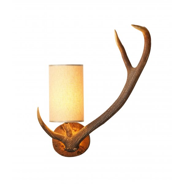 stag wall light photo - 2