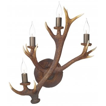 stag wall light photo - 4