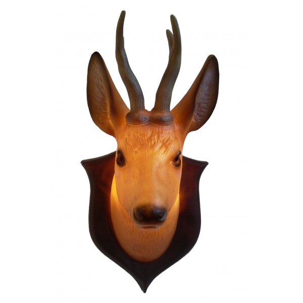 stag wall light photo - 9