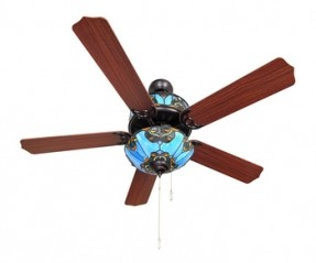 stained glass ceiling fan light shades photo - 2