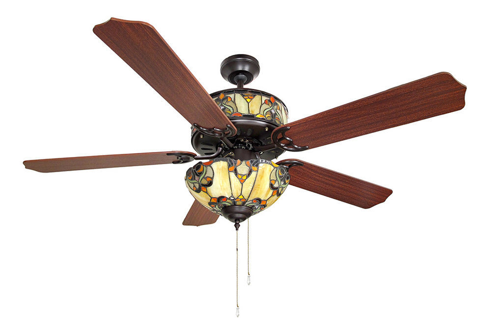 10 Benefits Of Stained Glass Ceiling Fans Warisan Lighting