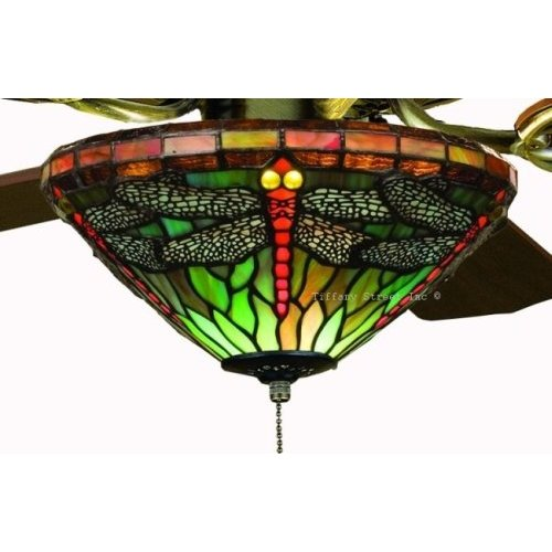 stained glass ceiling fans photo - 8