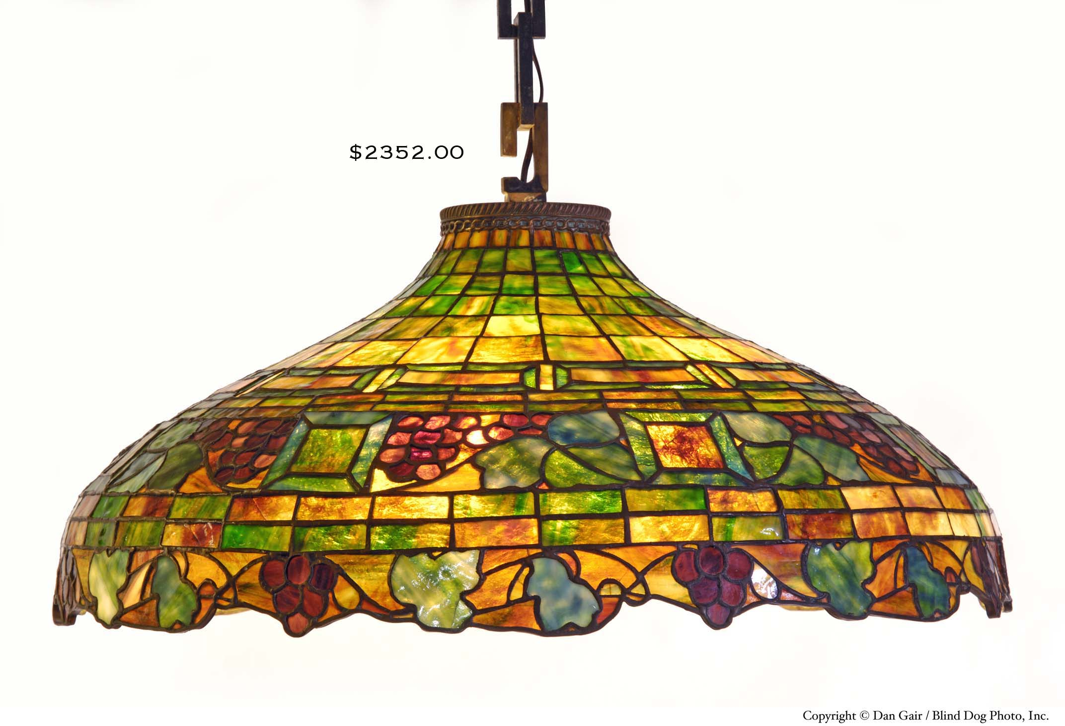 stained glass ceiling lamps photo - 3