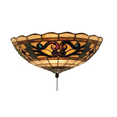 stained glass ceiling lamps photo - 7