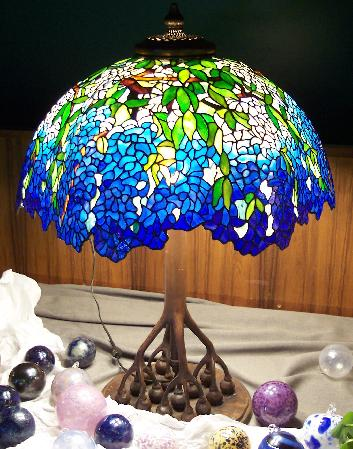 stained glass lamps photo - 2