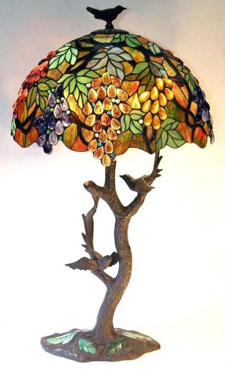 stained glass lamps photo - 4