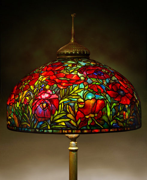 stained glass lamps photo - 6