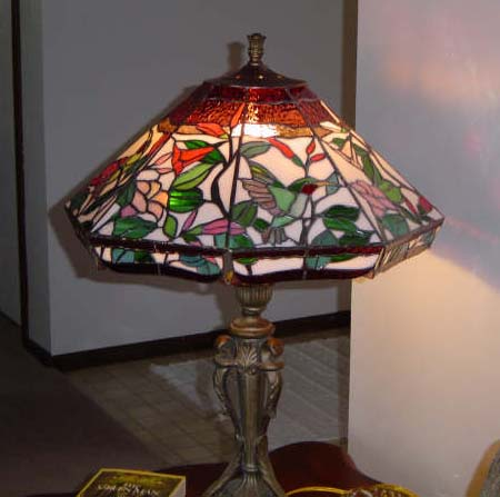 stained glass lamps photo - 8
