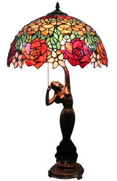 stained glass table lamps photo - 5
