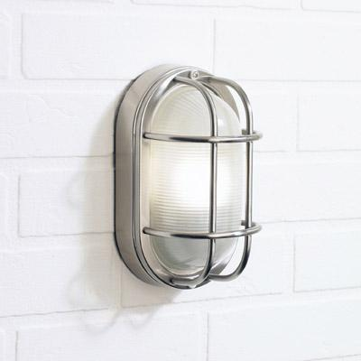stainless steel outdoor wall lights photo - 1