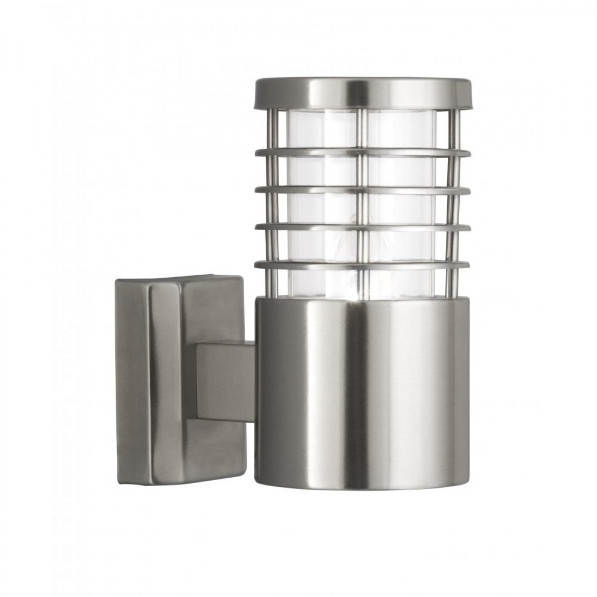 stainless steel outdoor wall lights photo - 3
