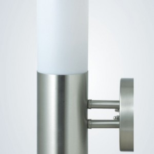 stainless steel outdoor wall lights photo - 5