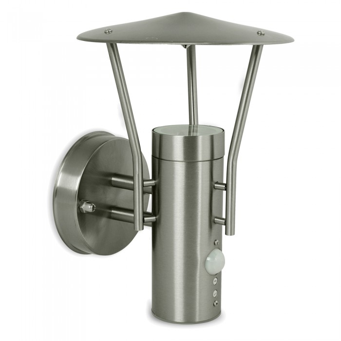 stainless steel outdoor wall lights photo - 7